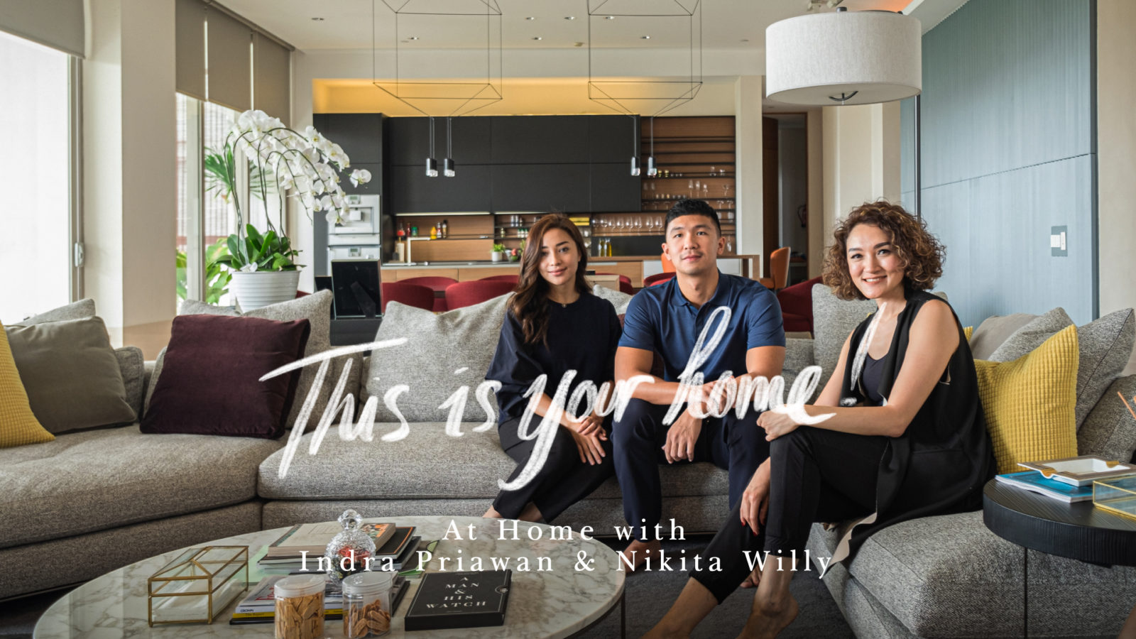 Staying At Home In Style with Indra Priawan and Nikita Willy