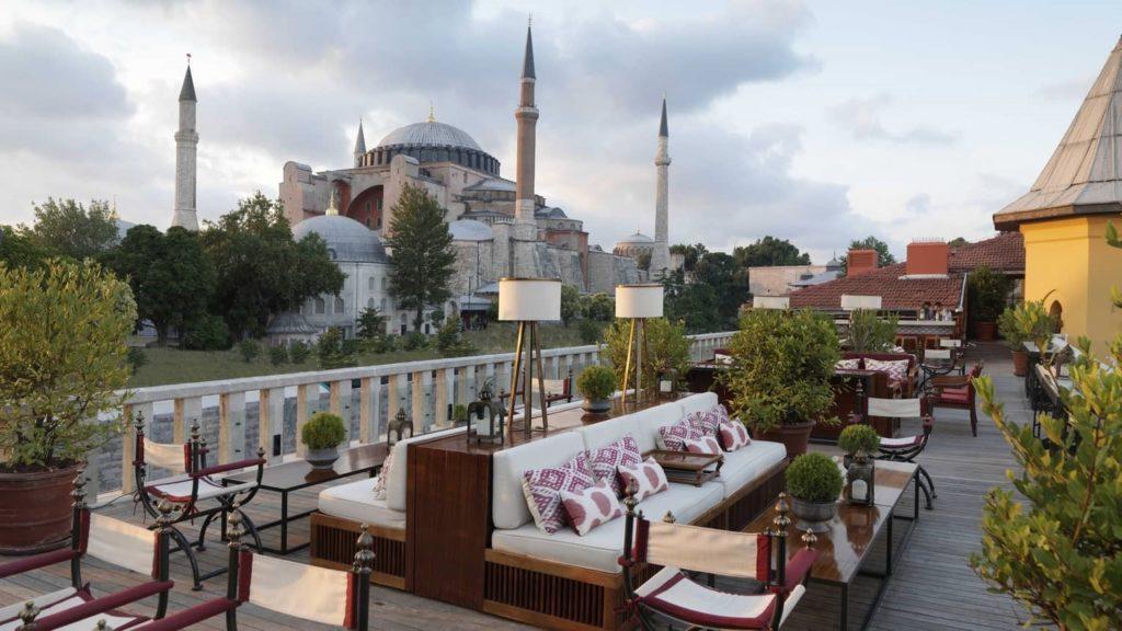 A'ya Terrace, Four Seasons, Istanbul, Turkey