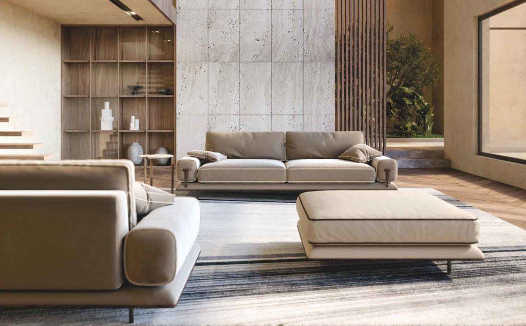 The Turri Blues Sofa collection