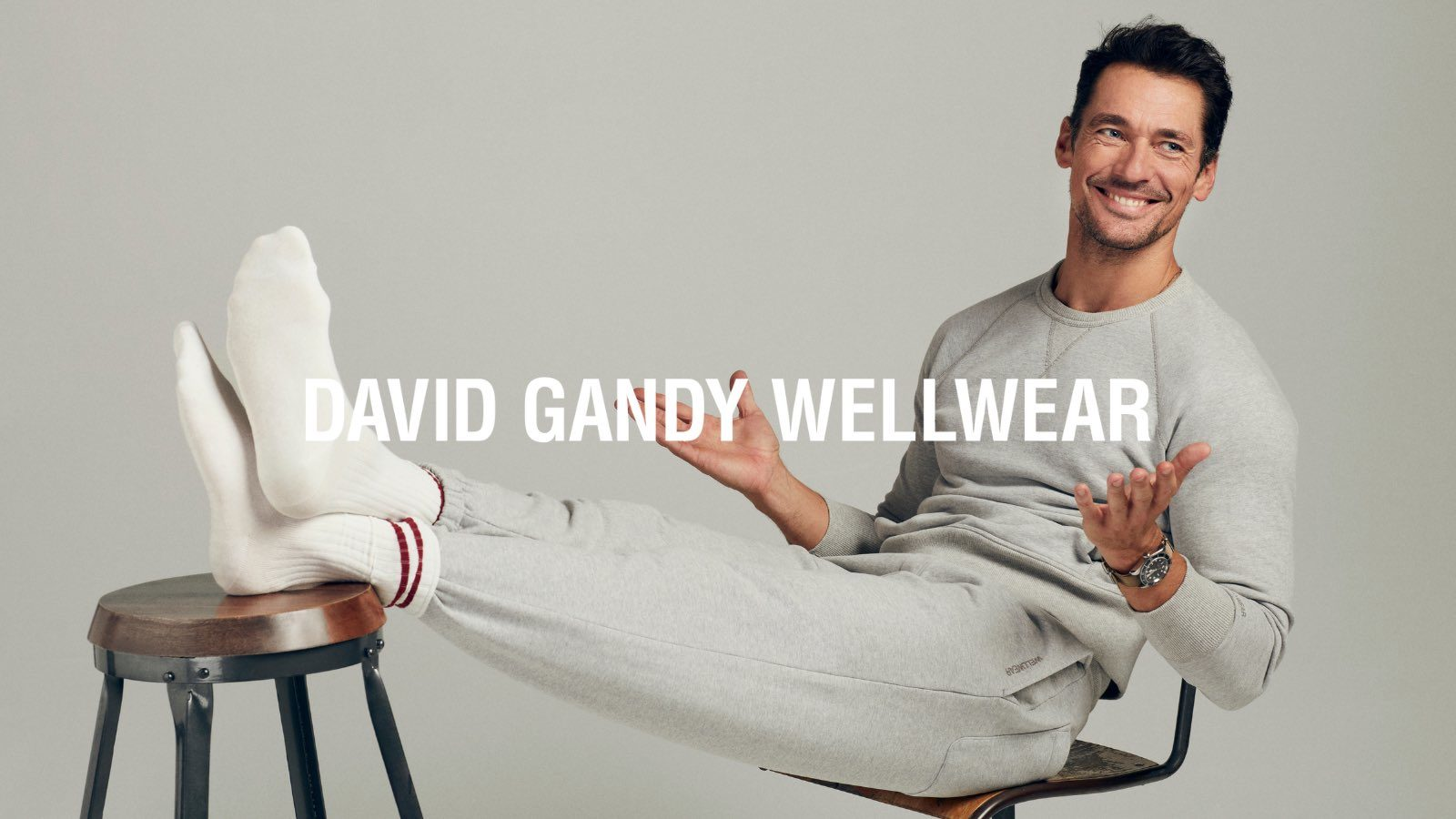 David Gandy Launches His Eponymous Fashion and Lifestyle Brand: David Gandy Wellwear