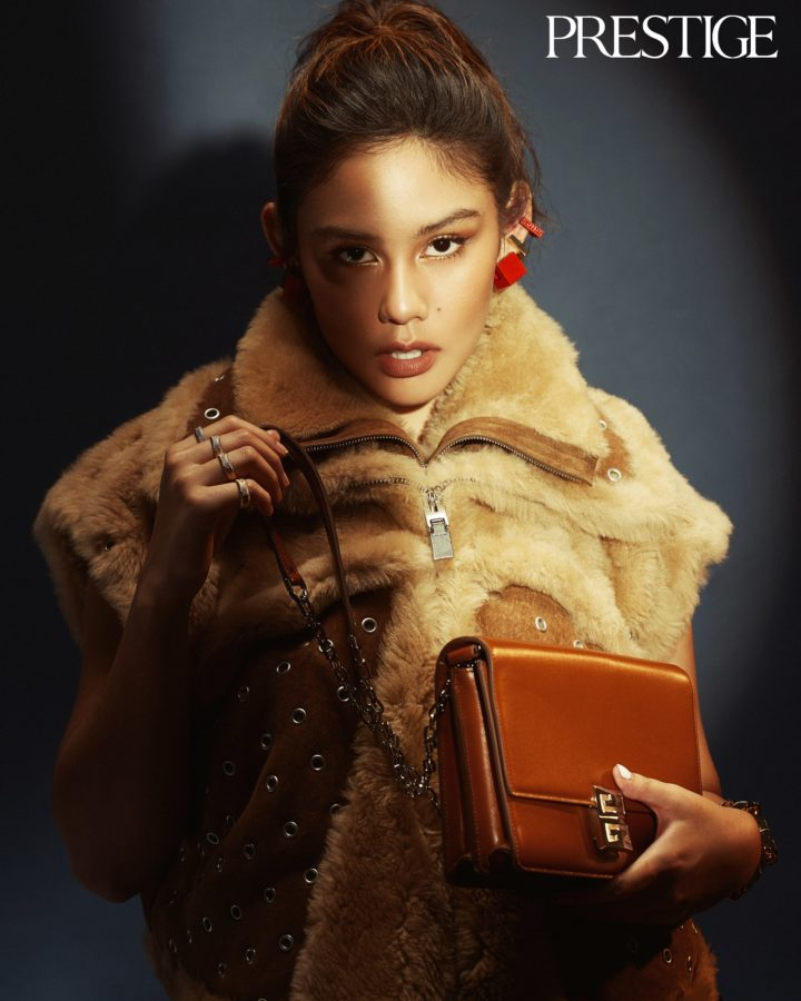 Play of Contrasts: Givenchy's Fall/Winter 2021 Collection featuring Vanessa Prescilla