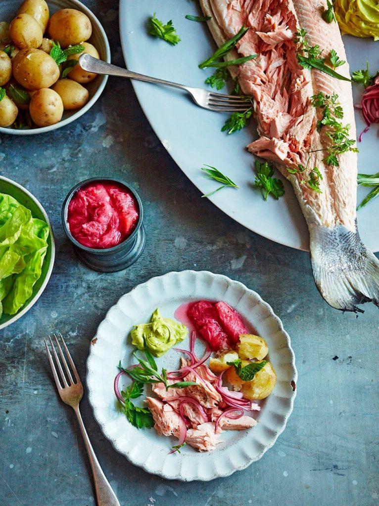 Jamie Oliver salmon