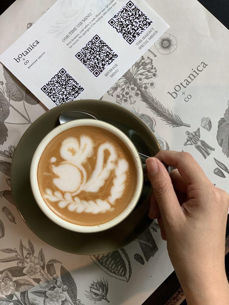 Botanica+Co QR menu