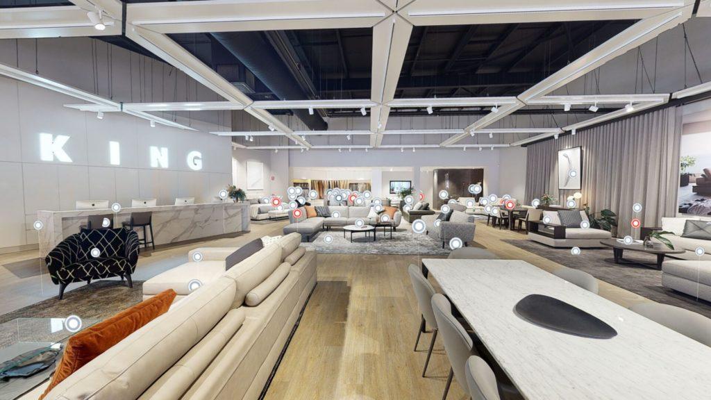 king living virtual showroom