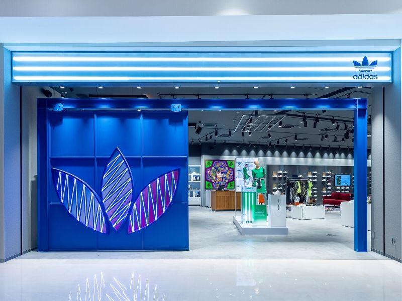 Adidas Originals Flagship Store Pavilion Storefront