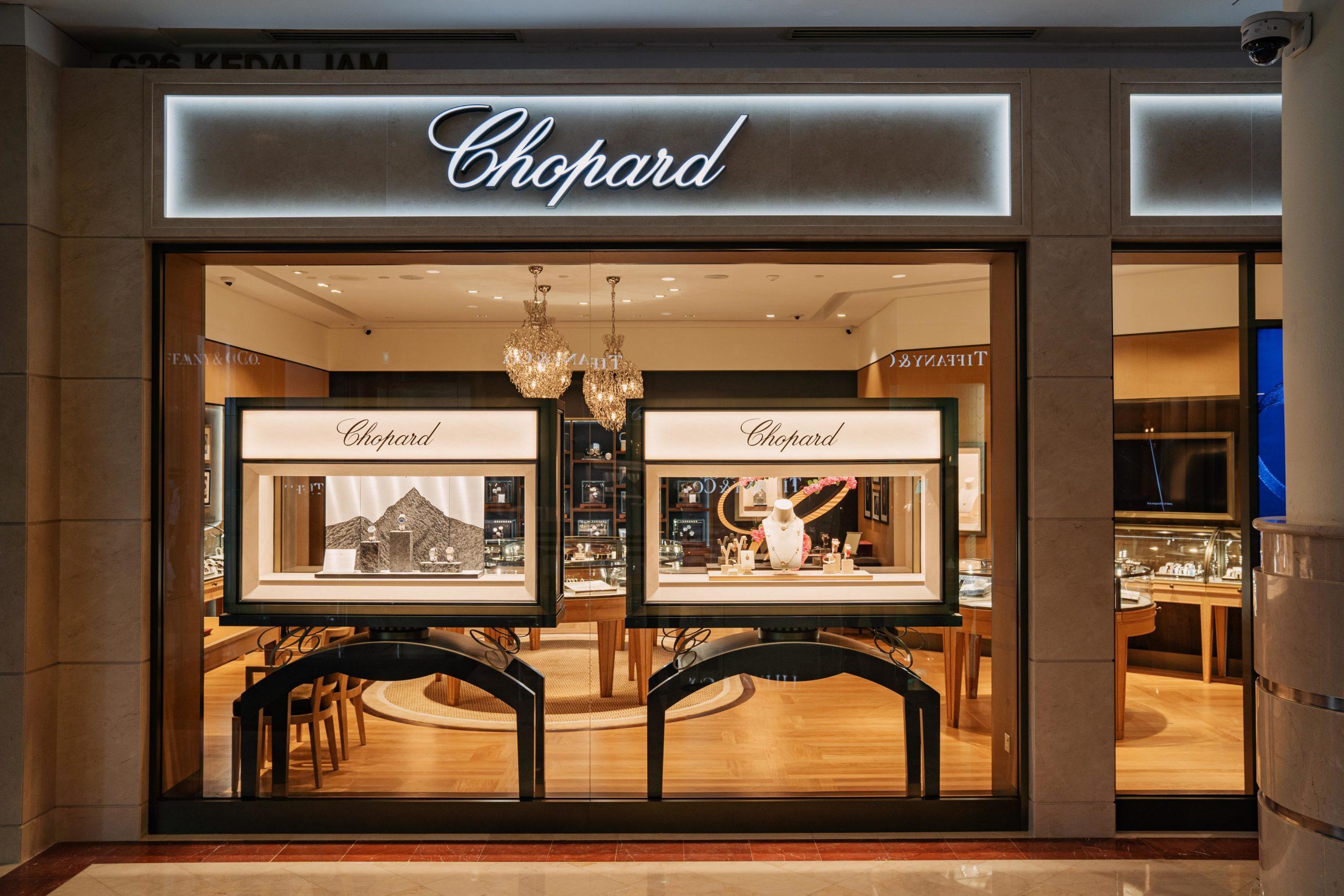 Chopard boutique exterior exudes class and sophistication (Photo: Chopard)