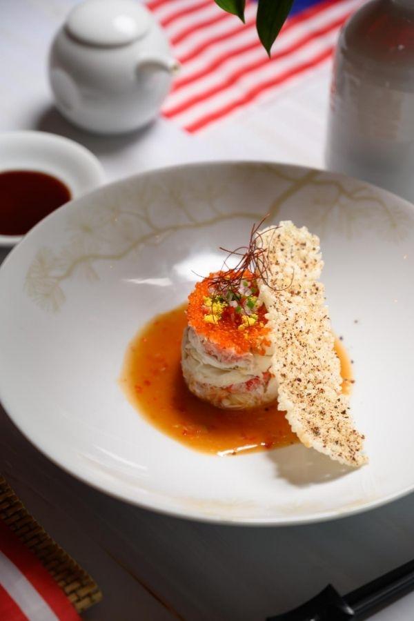 Chilli Crab Nobu Style