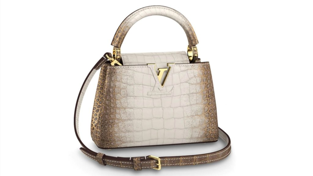 Louis Vuitton exotic leather