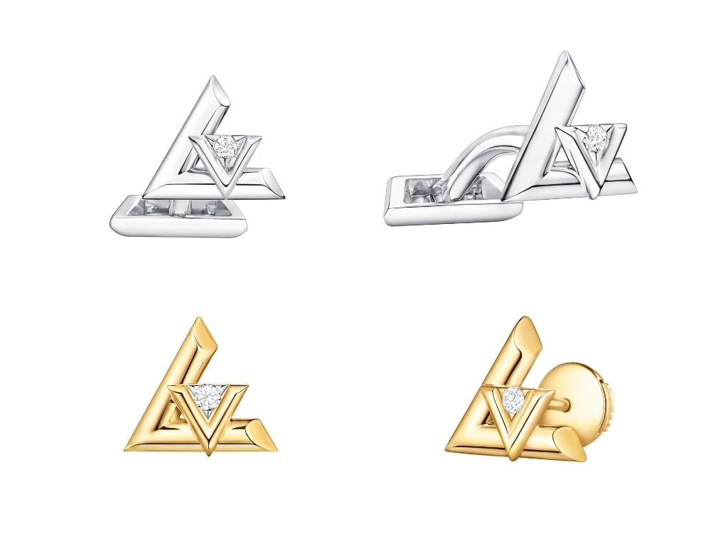 LV Volt One Studs and Cufflinks