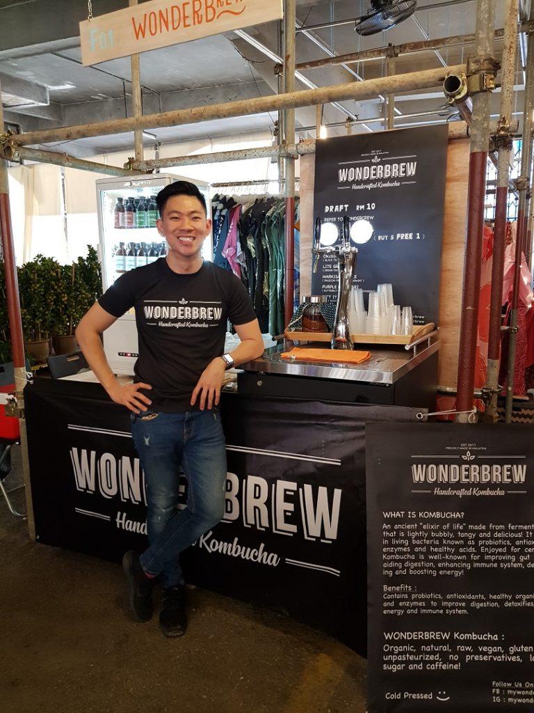 Joseph Poh, WonderBrew Kombucha founder