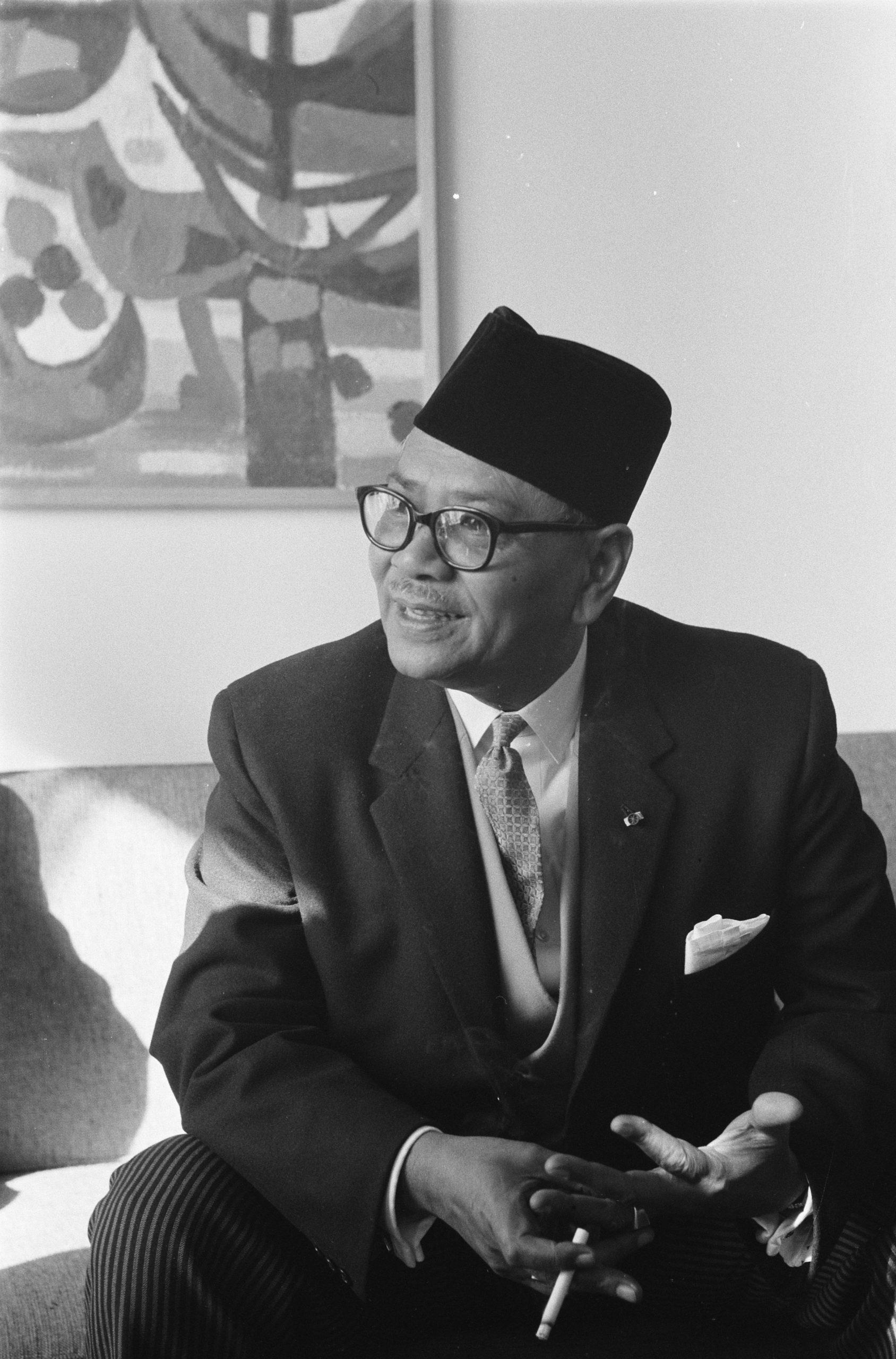 Portrait of Tunku Abdul Rahman