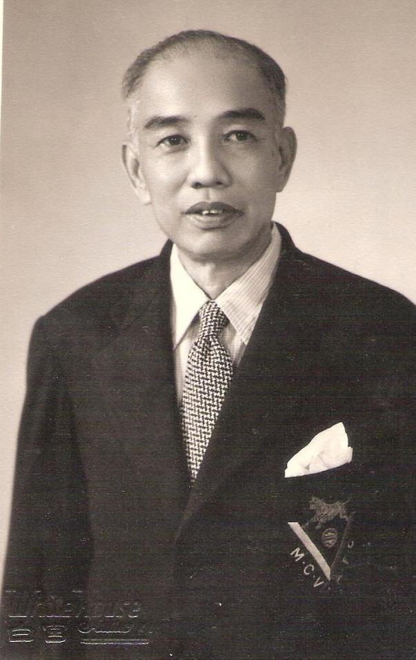 White House Studio portrait of Yap Kon Fah, son of Yap Hin