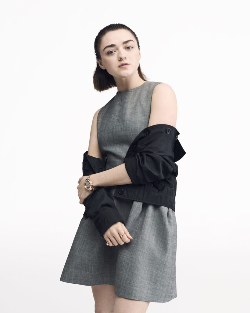 Maisie Williams for Cartier
