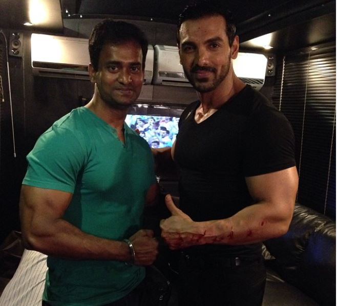 Vinod Channa and John Abraham