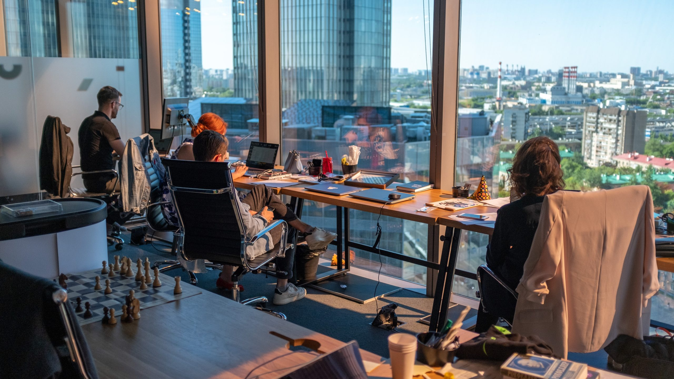 Geyer's Global Director shares his plans for a 'flexible' workspace in the post-pandemic future