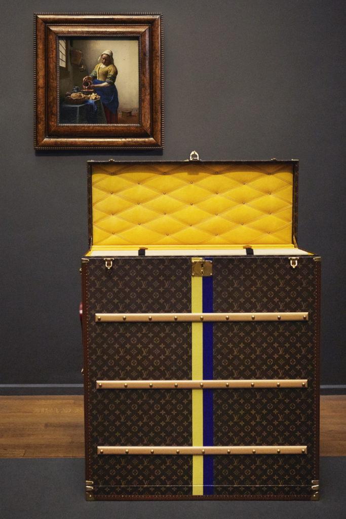 Louis Vuitton Masterpieces Travel trunks