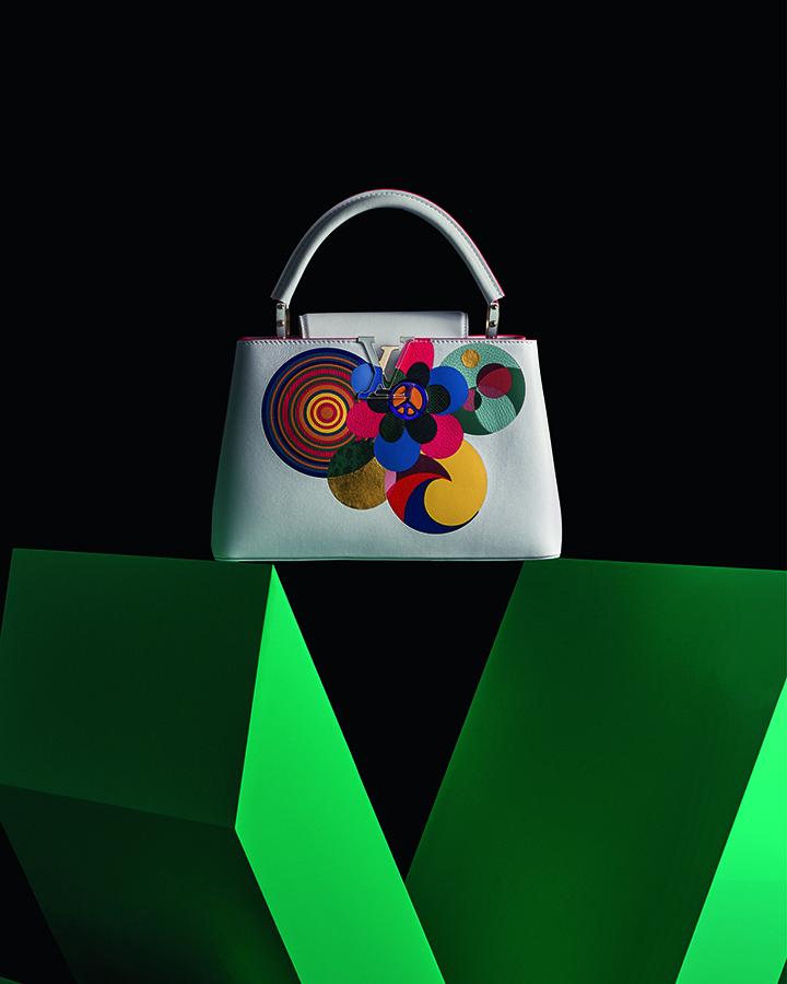 Louis Vuitton Capucines by Beatriz Milhazes