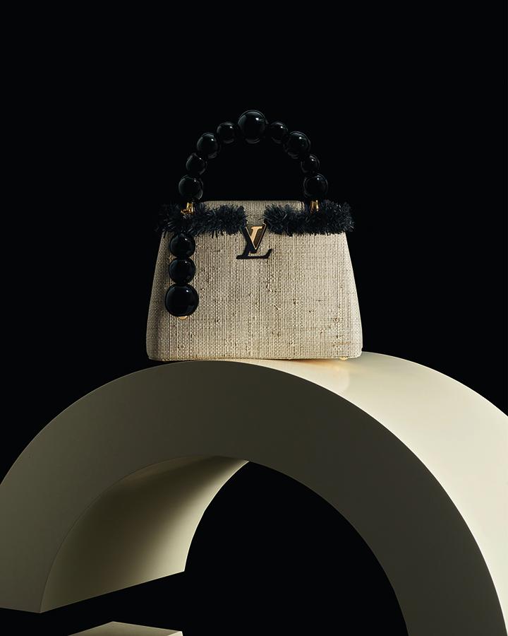 Louis Vuitton Capucines by Jean-Michel Othoniel