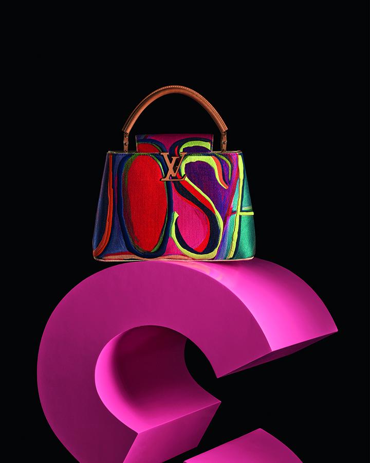 Louis Vuitton Capucines by Josh Smith