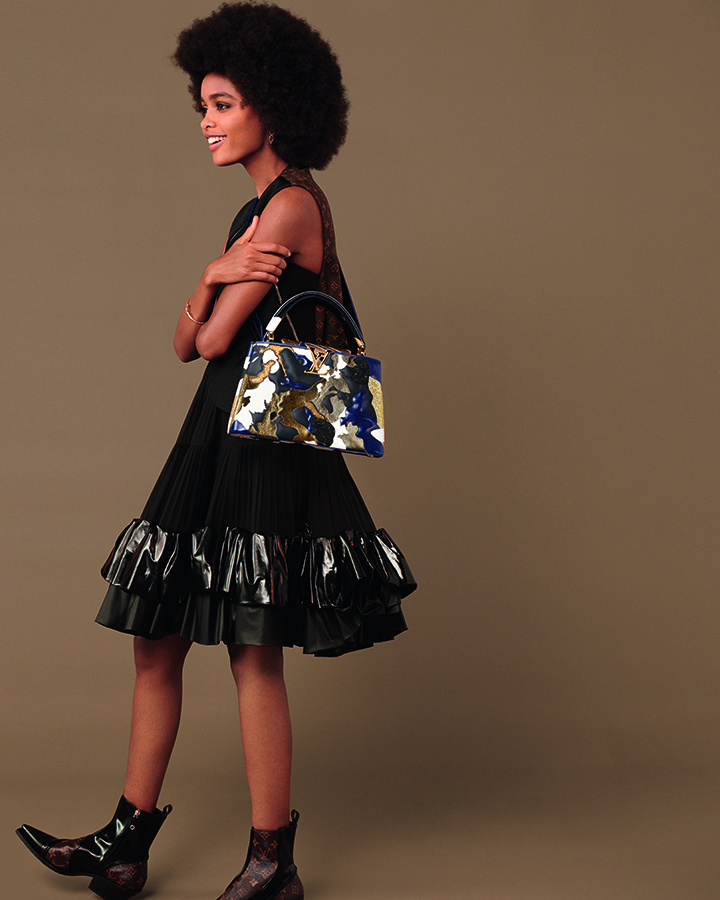 Louis Vuitton Artycaupines collection