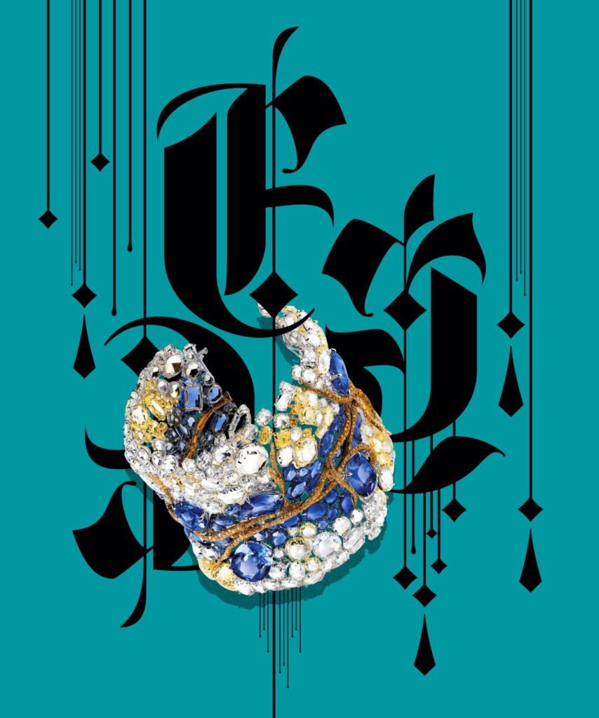 "Cindy Chao 2020 Black Label Masterpiece VI ""Reflection Bangle"""