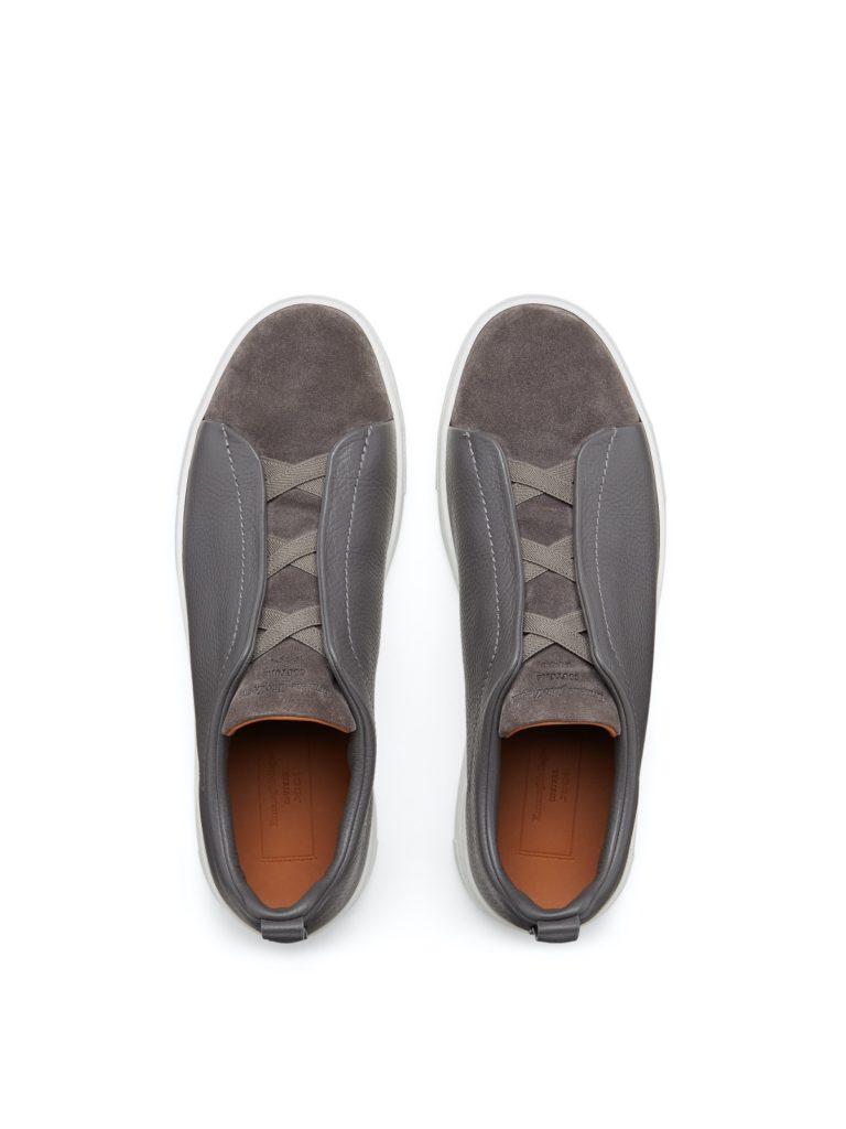 Zegna Tripe Stitch Sneaker