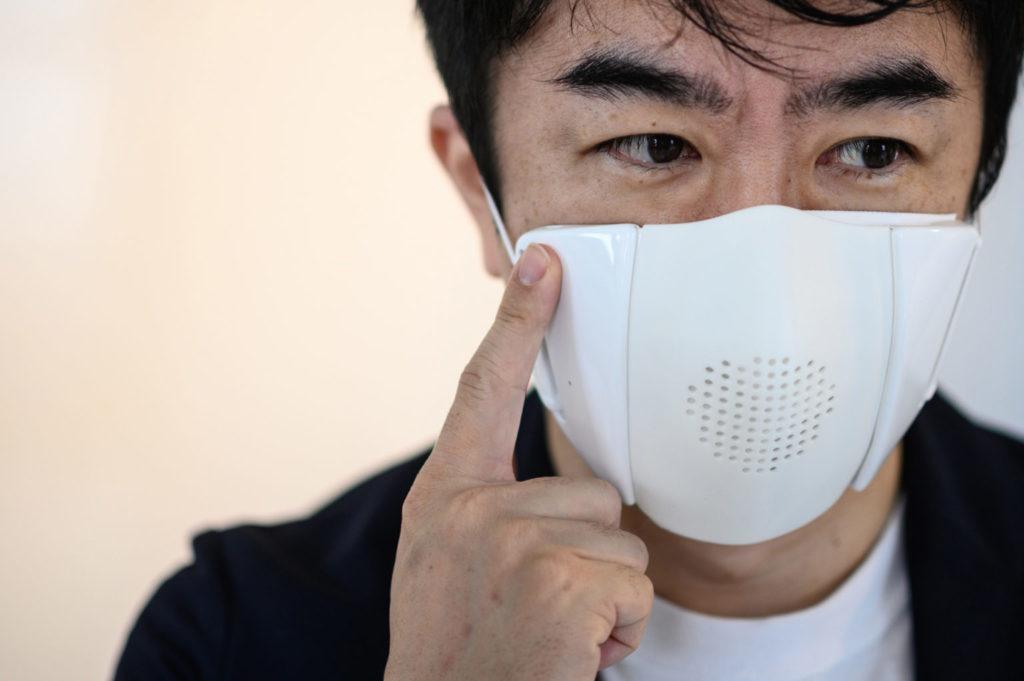 high-tech face masks