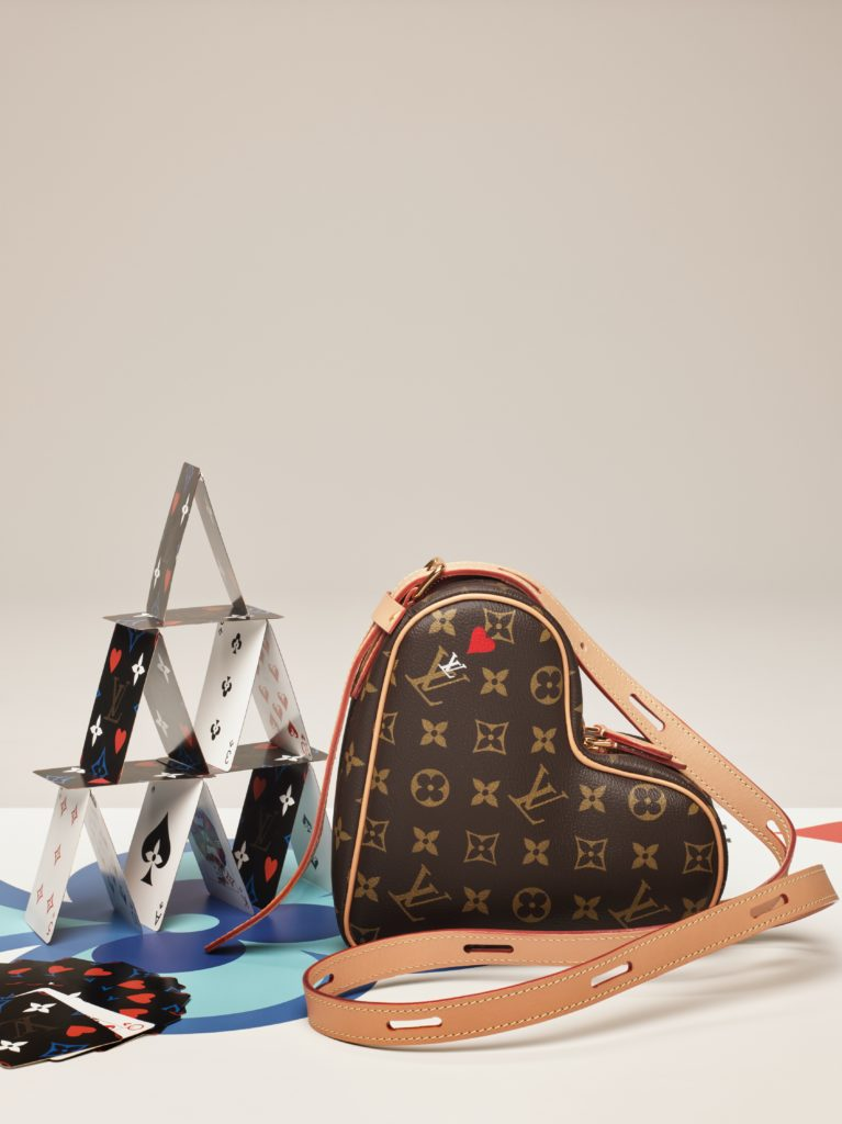 Heart Bag - Louis Vuitton Cruise 2021 'Game On' collection