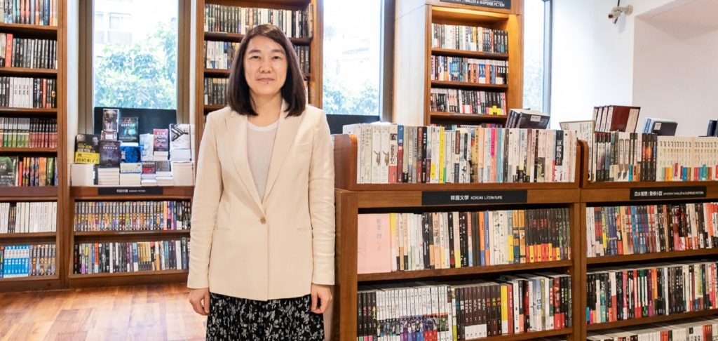 Eslite Group chairperson Mercy Wu
