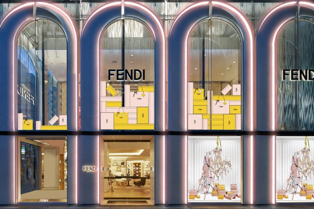 FENDI Ginza in Tokyo