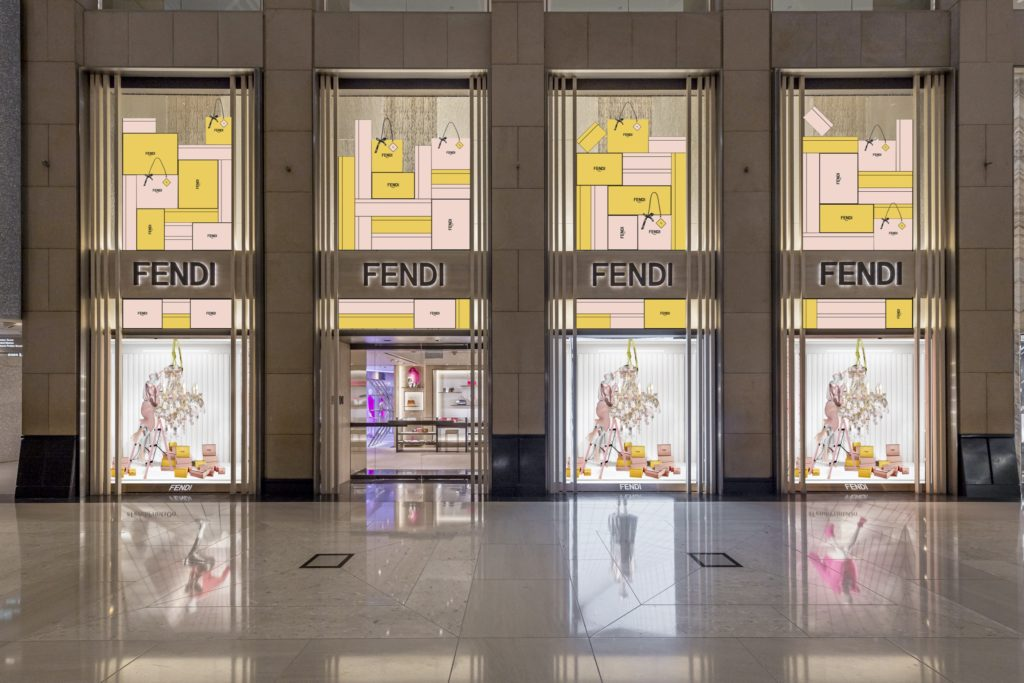 FENDI in Landmark Hong Kong