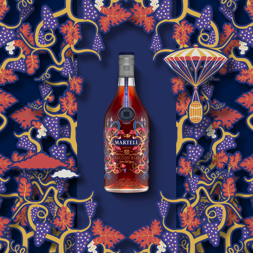 Martell Cordon Bleu The Legendary Union Limited Edition by Pierre Marie
