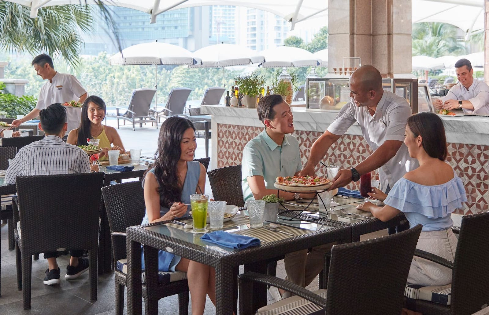 AQUA Restaurant & Bar, Mandarin Oriental Kuala Lumpur