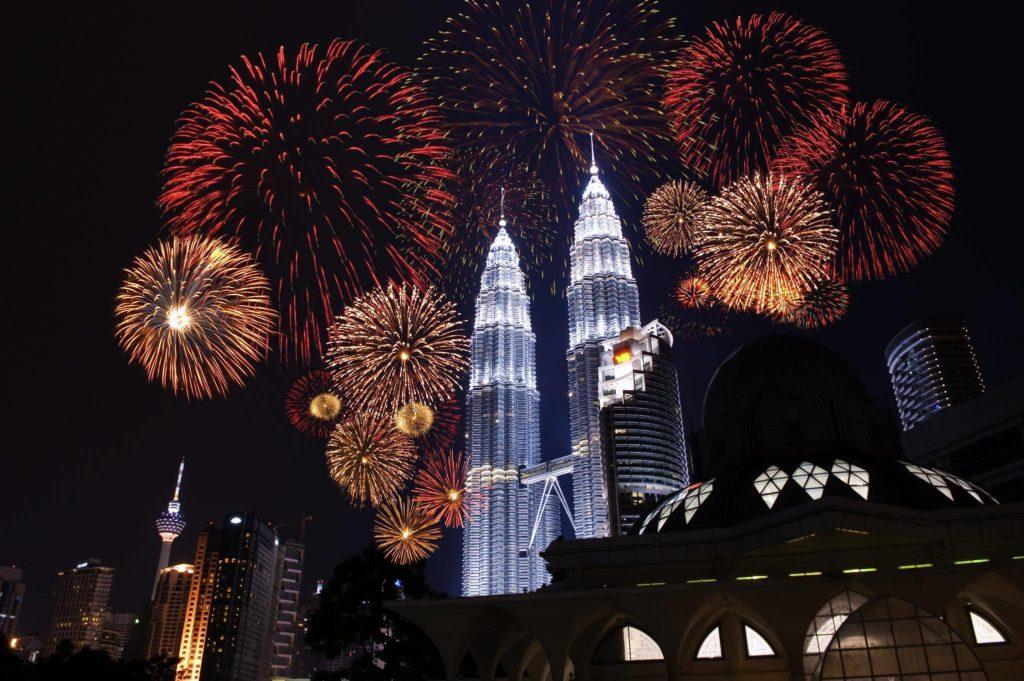 Fireworks, Mandarin Oriental Kuala Lumpur