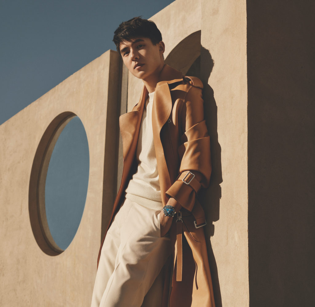 Louis Vuitton Tambour Horizon 2019 campaign