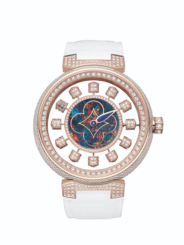 Louis Vuitton Tambour Spin Time Air Opal