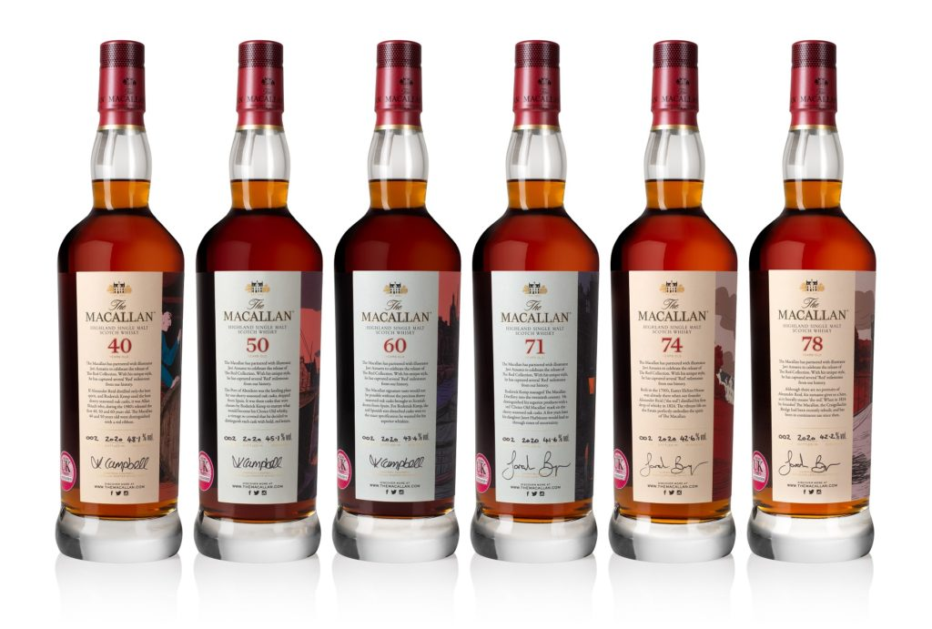 The Macallan 2020 Red Collection