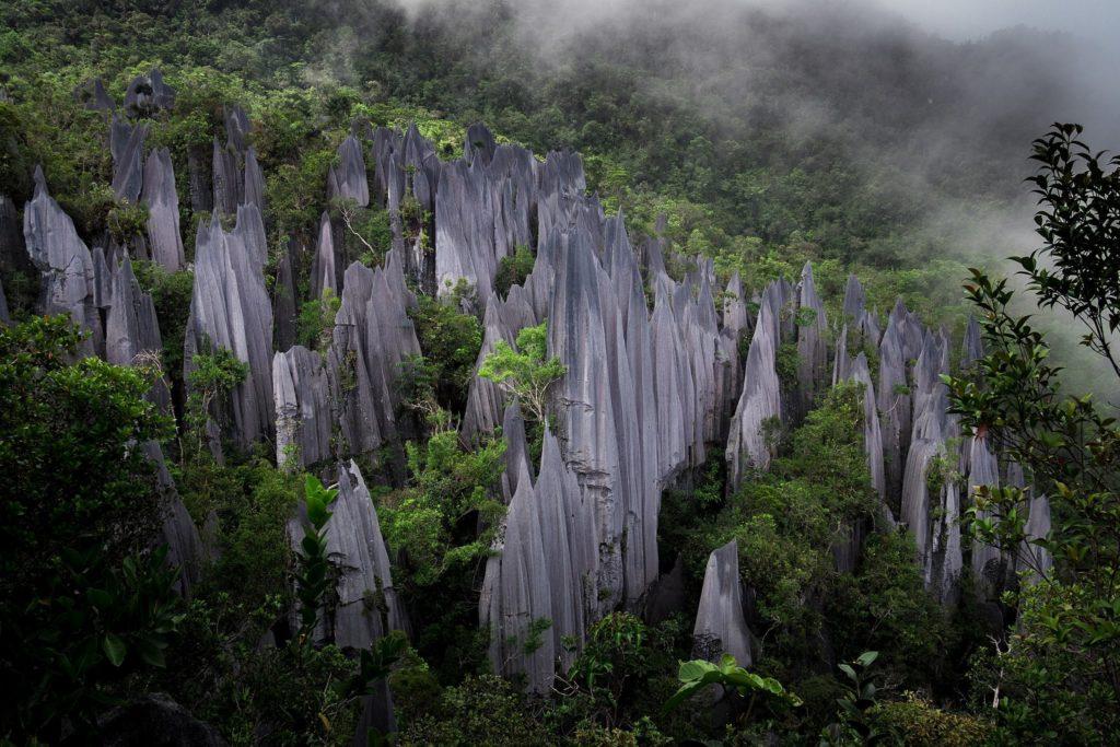 Pinnacles at ecotourism destination
