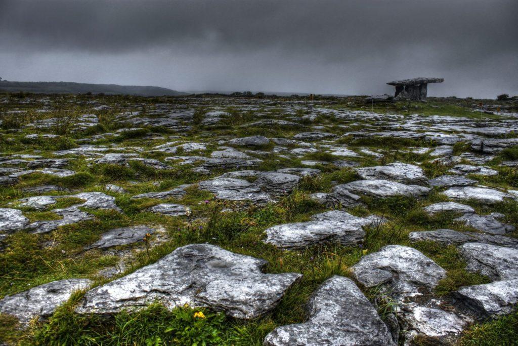 The Burren is an ecotourism destination