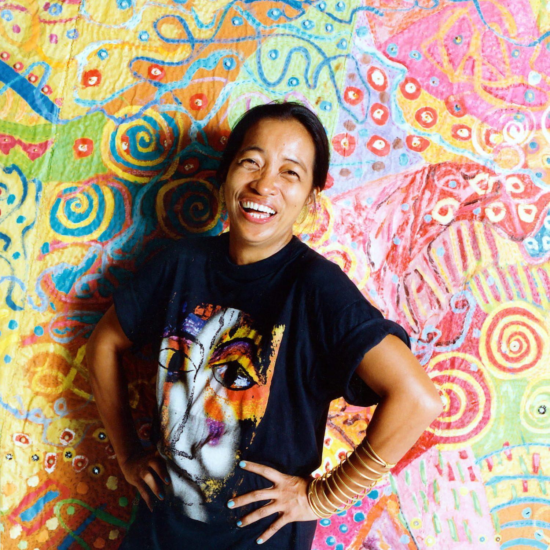 Pacita Abad contemporary artist