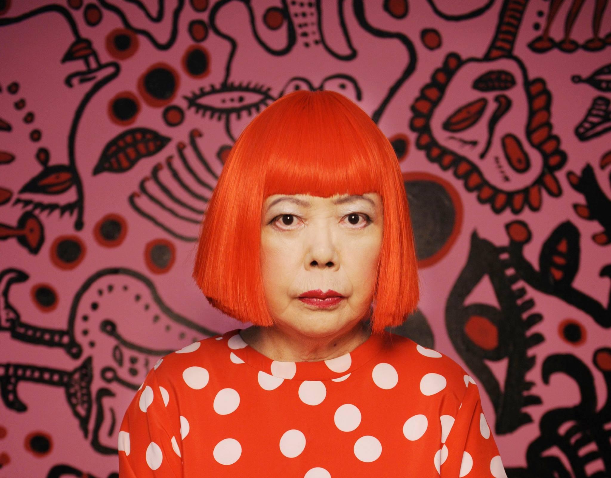 Asian contemporary artists Yayoi Kusama
