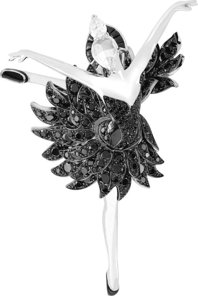 Black Swan Ballerine Clip