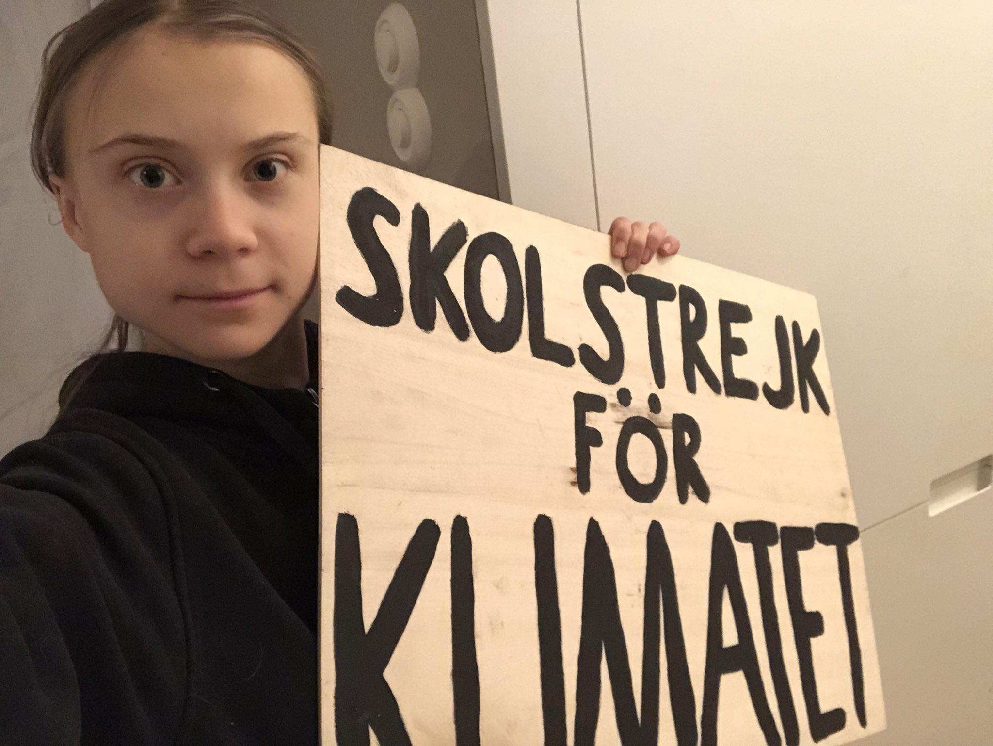 Greta Thunberg female role models