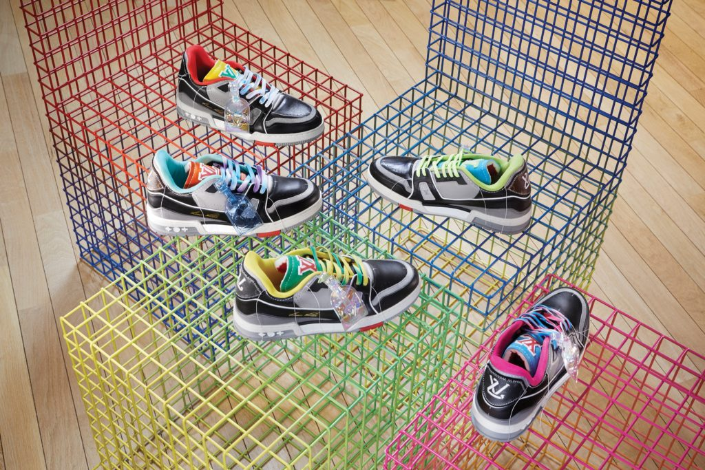 LV Trainer Upcycling 2021 collection