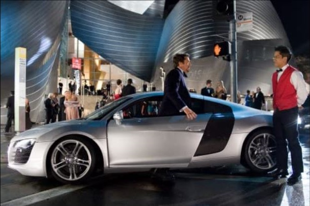 Audi R8 - famous cars in movies