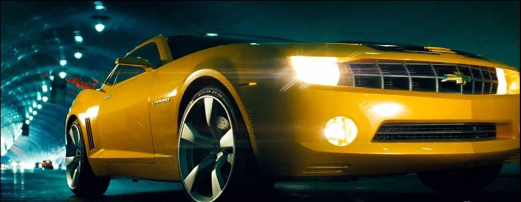 Chevrolet Camaro - famous cars in movies