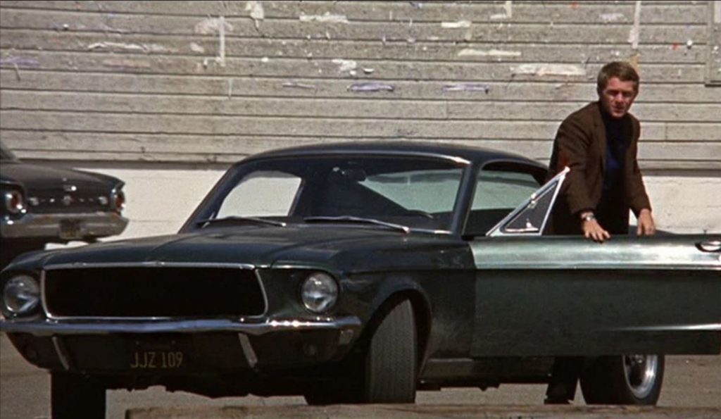 1968 Ford Mustang GT390 Fastback - famous cars in movies