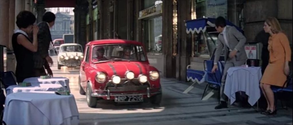 Mini Cooper - famous cars in movies