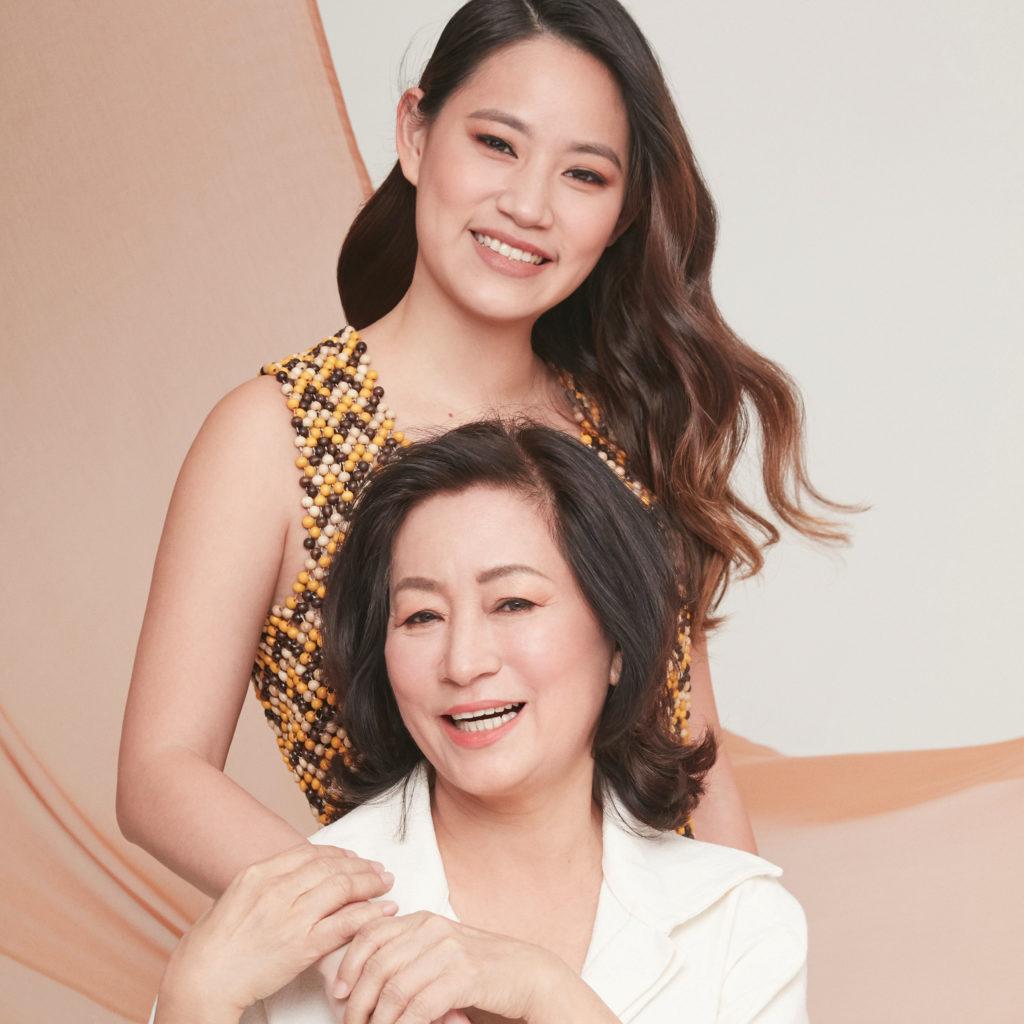 Maria Tan & Angeline Tan