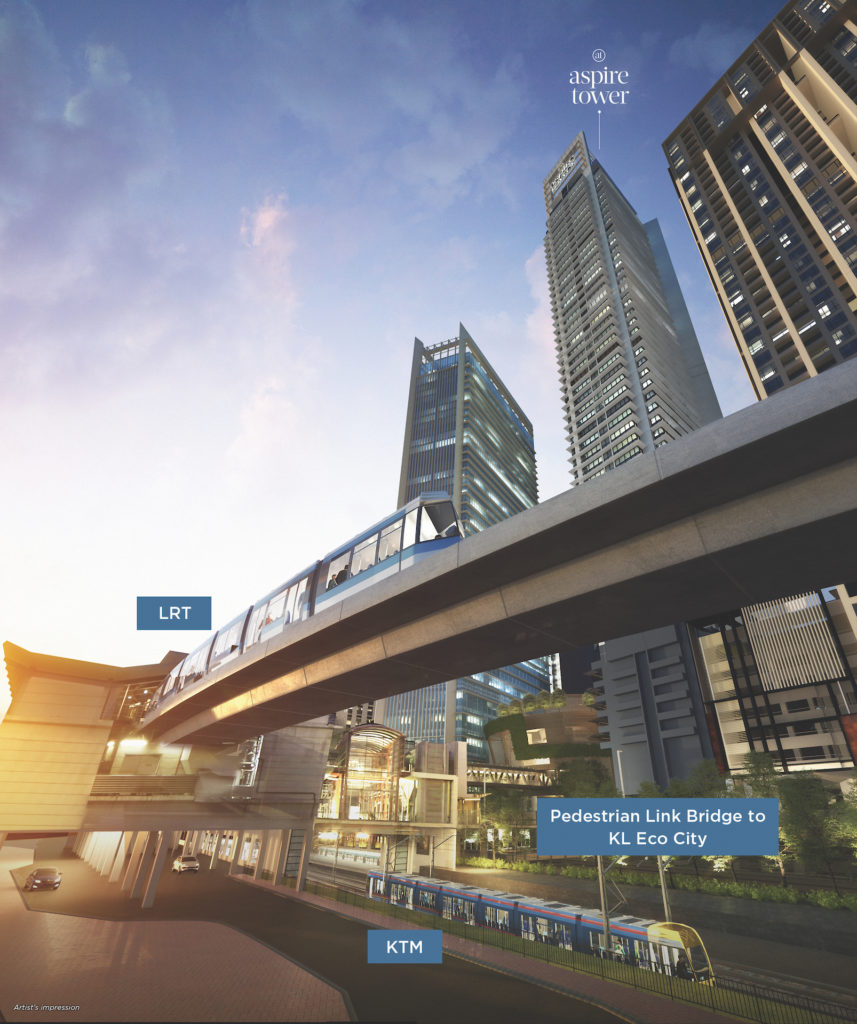 Aspire Tower, KL Eco City